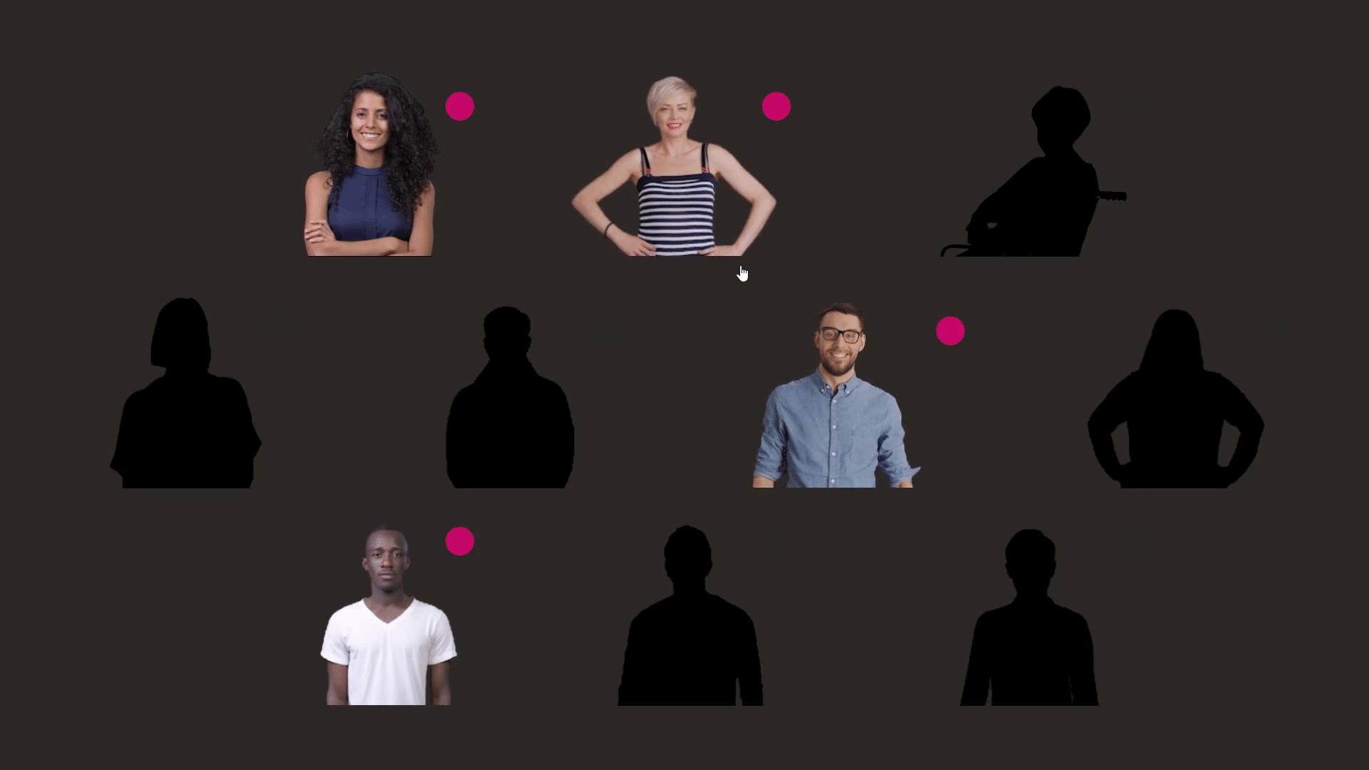 Unconscious bias training exercise- choose a person