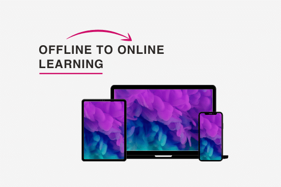 Offline to online learning